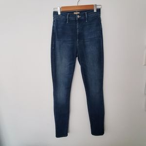 MOTHER Jeans Swooner Highrise Coin Pocket